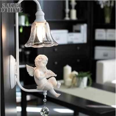 實物現場   小天使 掛牆燈