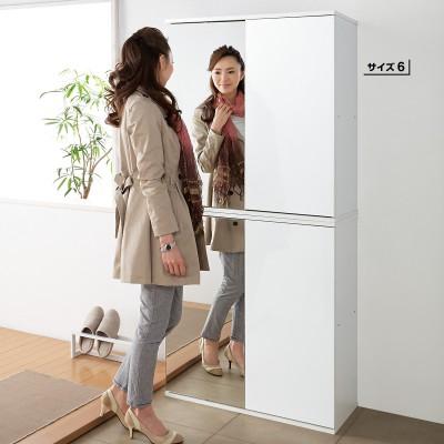 (自選訂做尺寸) NEW  日式 趟門 組合 鞋柜  可鏡面