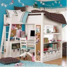 訂做 松木 高架床 組合  *精選貨品包安裝送貨*