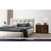 (自選訂造尺寸)  簡約 軟身床頭板 儲物油壓床