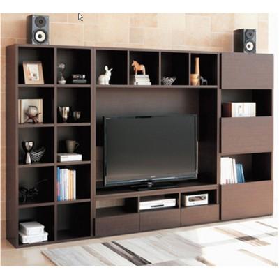 (自選訂做尺寸) 高身 CD+音響+雜物柜+書櫃+TV櫃 (罕有 厚背板)