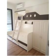 自選訂做 兒童床 子母衣櫃床 最高環保甲醛標準E0板材