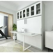 (精選貨品.免費安裝送貨) (自選訂造尺寸) 書桌隱形床 MURPHY BED w/DESK