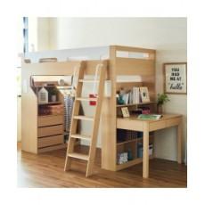 日式多功能組合書桌+書柜+單/雙人床(精選貨品包安裝送貨)可訂造