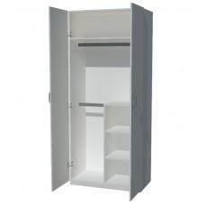 超結實 厚背板 拉門衣櫃 多款呎吋