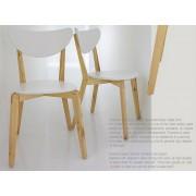 時尚簡約 實櫸木椅 餐桌椅