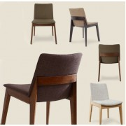 北歐 MIERA 實木坐椅 餐椅 工作椅