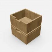 自由組合儲物柜配件-柜桶 (小) 2個 深30cm