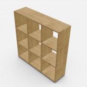 自由組合儲物柜  高109.2cm x 闊109.2cm x  深30cm  (可改尺寸)