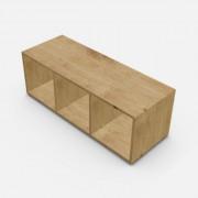 自由組合儲物柜  高37.6cm x 闊109.2cm x  深40cm  (可改尺寸)
