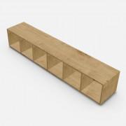 自由組合儲物柜  高37.6cm x 闊216.6cm x  深40cm  (可改尺寸)