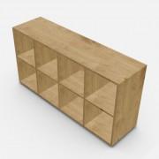 自由組合儲物柜  高73.4cm x 闊145cm x  深40cm  (可改尺寸)