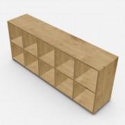 自由組合儲物柜  高73.4cm x 闊180.8cm x  深40cm  (可改尺寸)