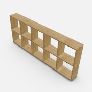 自由組合儲物柜  高73.4cm x 闊180.8cm x 深20cm (可改尺寸)