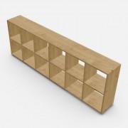 自由組合儲物柜  高73.4cm x 闊216.6cm x  深30cm  (可改尺寸)