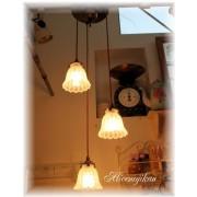 日本直送 通花玻璃吊燈 日本製造