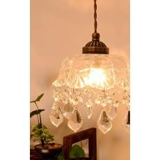 日本直送 水晶玻璃吊燈 日本製造