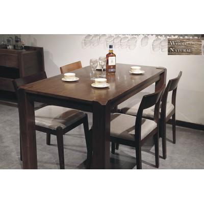 WOOD NATURAL 北歐水曲柳實木餐桌
