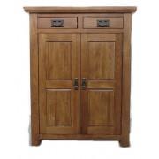 高級橡實木2門儲物櫃