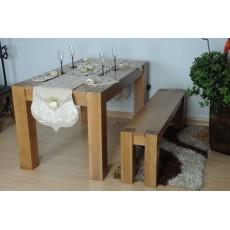高級橡實木4-6人餐桌