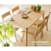 Rione 全橡木 實木餐桌 120cm x 75cm