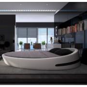 Modern Design 現代設計 真皮圓床