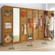 自選訂做 自然木色系 儲物衣櫃