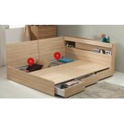 (自選訂做尺寸) 韓式儲物床(精選貨品包安裝送貨)