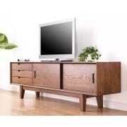 純橡木實木電視櫃