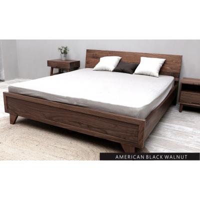 AMERICAN BLACK WALNUT BED 北美黑胡桃木床 (可定做尺寸)