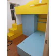 (自選訂做尺寸) 丁子儲物床