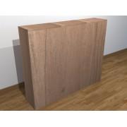 自由組合地台儲物床頭櫃  長120cm x 闊25/30/35/40 x 高100cm
