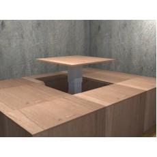 自由組合電動升降桌地台  長80cm x 闊80cm x 高40cm
