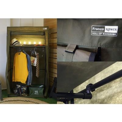 日本捲布拉鍊布衣櫃 (陸軍)