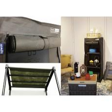 日本捲布拉鍊布儲物櫃 (陸軍)