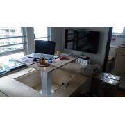 日式 多功能 電動 桌面升降  儲物 組合 地台床