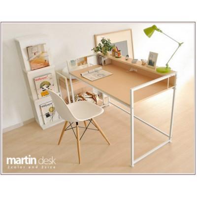 日式 MARTIN 電腦桌 W90XD60XH75cm陳列貨品,只此一件(淺胡桃)